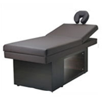 Modern Black Facial and Massage Table for Spas
