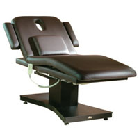 Modern Brown Electric Massage and Facial Bed for Spas