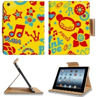 Pucca And Garu Colorful Apple Ipad 2 3 4 Flip Case Stand Smart Magnetic Cover Retina Display