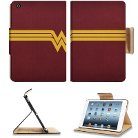 Wonder woman Lasso Symbol Icon Apple Ipad Mini Flip Case Stand Smart Magnetic Cover