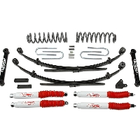 "1987-2001 Jeep Cherokee 4x4 - 3.5"" Suspension Lift Kit w/rear leaf springs"