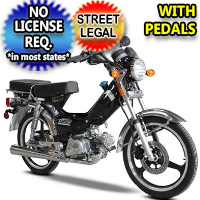 50cc SSR Street Legal Gas Automatic Scooter Moped - LAZER 5