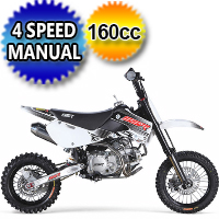 160cc Manual Kick Start Dirt Bike - SR160TX