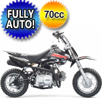 70cc SR70 Automatic Dirt Bike