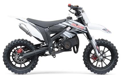 New 50cc Dirt Bike 2 4hp 2 Stroke Pit Bike