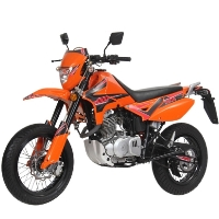 250cc Enduro Street Legal 4 Stroke Dirt Bike - California C.A.R.B. Approved