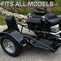 All Model Side Car Renegade Series Scooter Sidecar Kit - Fits All Models
