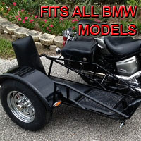 Side Car Renegade Series Motorcycle Sidecar Kit - Fits BMW Models