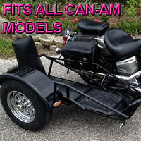 Can-Am Side Car Renegade Series Scooter Sidecar Kit