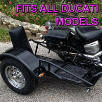 Ducati Side Car Renegade Series Scooter Sidecar Kit