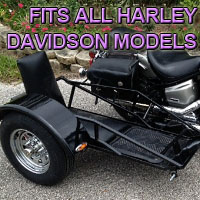 Harley Davidson Side Car Renegade Series Scooter Sidecar Kit