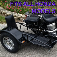 Honda Side Car Renegade Series Scooter Sidecar Kit