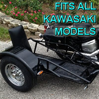 Kawasaki Side Car Renegade Series Scooter Sidecar Kit