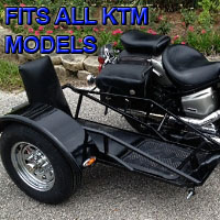 KTM Side Car Renegade Series Scooter Sidecar Kit