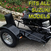 Suzuki Side Car Renegade Series Scooter Sidecar Kit