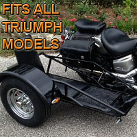 Triumph Side Car Renegade Series Scooter Sidecar Kit
