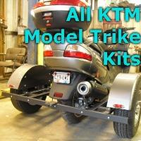 KTM Scooter Trike Kit - Fits All Models