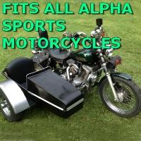 Alpha Sports Side Car Motorcycle Sidecar Kit