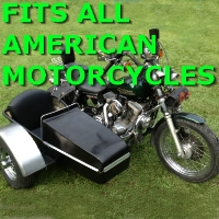 American Side Car Motorcycle Sidecar Kit
