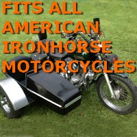 American Ironhorse Car Motorcycle Sidecar Kit
