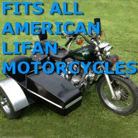 American Lifan Car Motorcycle Sidecar Kit