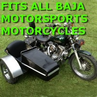 Baja Motorsports Side Car Motorcycle Sidecar Kit