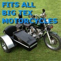 Big Tex Chopper Side Car Motorcycle Sidecar Kit