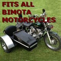 Bimota Chopper Side Car Motorcycle Sidecar Kit