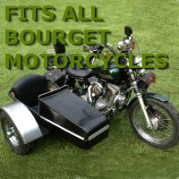 Bourget Side Car Motorcycle Sidecar Kit