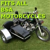 BSA Side Car Motorcycle Sidecar Kit