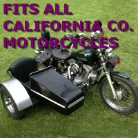 California Company Side Car Motorcycle Sidecar Kit