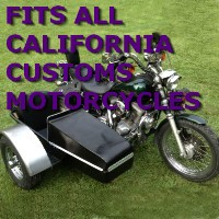 California Customs Side Car Motorcycle Sidecar Kit