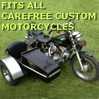 Carefree Custom Cycles Car Motorcycle Sidecar Kit