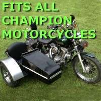 Champion Side Car Motorcycle Sidecar Kit