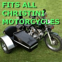 Christini Side Car Motorcycle Sidecar Kit
