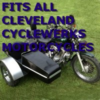 Cleveland Cyclewerks Side Car Motorcycle Sidecar Kit