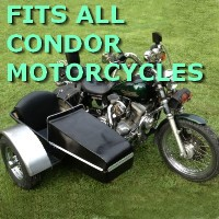 Condor Side Car Motorcycle Sidecar Kit