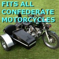 Confederate Side Car Motorcycle Sidecar Kit