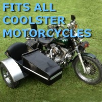Coolster Side Car Motorcycle Sidecar Kit