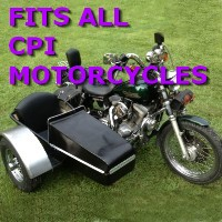 CPI Side Car Motorcycle Sidecar Kit
