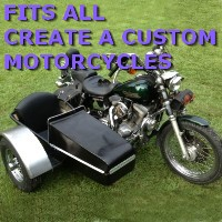 Create a Custom Motorcycle Side Car Motorcycle Sidecar Kit
