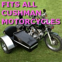 Cushman Side Car Motorcycle Sidecar Kit