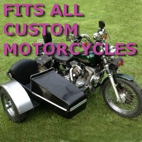 Custom Side Car Motorcycle Sidecar Kit