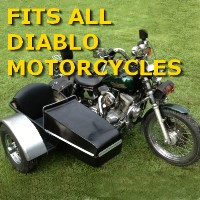 Diablo Side Car Motorcycle Sidecar Kit