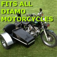 Diamo Side Car Motorcycle Sidecar Kit