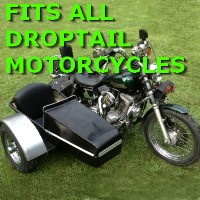 Droptail Side Car Motorcycle Sidecar Kit
