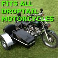 Droptail Side Car Motorcycle Sidecar Kit