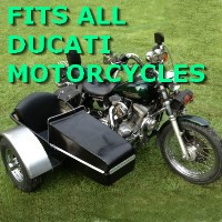 Ducatti Side Car Motorcycle Sidecar Kit