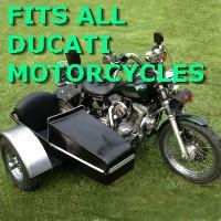 Ducatti Side Car Motorcycle Sidecar Kit