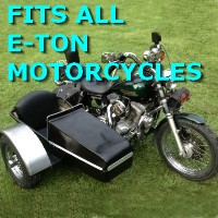 E-Ton Side Car Motorcycle Sidecar Kit